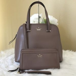 Kate spade Patterson drive satchel&Matching Wallet